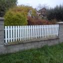 umývání plastového plotu